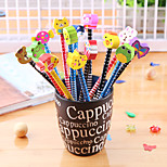 Cute Cartoon Hb Pencil(10PCS)