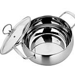 Food Grade Cooking Pot Cookware  Stainless Steel Cookware 22cm