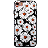 Para Funda iPhone 7 / Funda iPhone 7 Plus / Funda iPhone 6 En Relieve / Diseños Funda Cubierta Trasera Funda Flor Dura Acrílico Apple