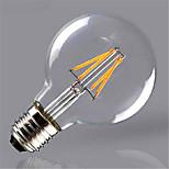 4W E26/E27 Ampoules à Filament LED G80 4 SMD 5730 280 lm Blanc Chaud / Jaune Décorative V 1 pièce
