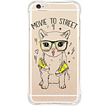 Shockproof Pattern Cartoon Cat TPU Soft Case Back Cover For iPhone 6s Plus 6 Plus iPhone 6s 6 iPhone SE 5s 5