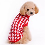 Classic Swallow Gird Pattern Winter Sweater for Pets Dogs Clothings (Assorted Sizes and Colours)