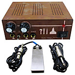 Solong Tattoo Double Output Digital Tattoo Power Supply  Foot Pedal  Clip Cord Kit P130-3