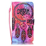 For Sony Case Card Holder / Wallet / with Stand / Pattern Case Full Body Case Dream Catcher Hard PU Leather for SonySony Xperia XA / Sony