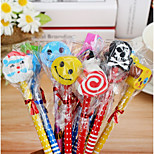 Korea Creative Flower Film Pencil(12PCS)