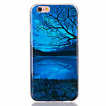 For iPhone 7 Case / iPhone 6 Case / iPhone 5 Case Ultra-thin / Pattern Case Back Cover Case Scenery Soft TPU AppleiPhone 7 Plus / iPhone