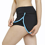 Yoga-Hose Shorts/Laufshorts / Unten Atmungsaktiv / Rasche Trocknung / Videokompression / Komfortabel Niedrig Hochelastisch Sportbekleidung