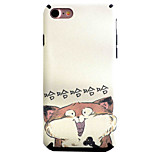 Funny Cat Pattern TPU Silk Material Pattern of Paste Skin Phone Case For iPhone 7 7 Plus