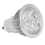 4W GU10 Focos LED MR16 4LED LED de Alta Potencia 400LM lm Blanco Cálido / Blanco Fresco Regulable / Decorativa V 1 pieza
