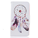 Wind Chimes Pattern Painting PU Material Phone Cover For LG LG K10 K8 K7
