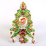 Creative Wooden Christmas Tree Decorations Three-Dimensional Model Desktop Ornament