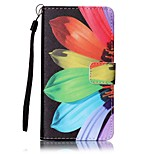 For Sony Case Wallet / Card Holder / with Stand / Pattern Case Full Body Case Flower Hard PU Leather for SonySony Xperia XA / Sony Xperia