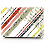 For MacBook Pro 13 15 Case Cover Polycarbonate Material Geometric Pattern
