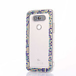 For LG G5 G4 K10 Rhinestone Case Back Cover Case Flower Hard PC For LG K7 LG K4 LG G3 LG V10 V20