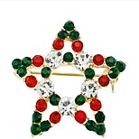 The Christmas Star Diamond Brooch