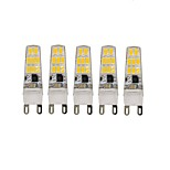 5PCS G9 16 Led SMD5733 AC220 v 650 lm Warm White Cold White Wouble Pin Waterproof Lamp White