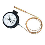 WTQ Electrical Contact Pressure Thermometer