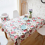 Square Patterned / Animal / Patchwork Table Cloth , Linen Material Hotel Dining Table / Table Decoration