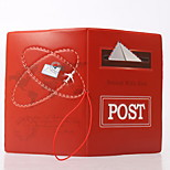 Travel Passport Holder & ID Holder Waterproof / Dust Proof / Portable Travel Storage PVC Postbox