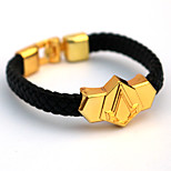 Inspired by Assassin Cosplay Accessories Bracelet Golden Alloy / PU Leather
