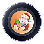 Wireless Charger for Samsung Qi Wireless Charging Pad 5V 2A Christmas Theme for Samsung Galaxy S6 S6 EDGE S7 S7 EDGE HTC 8X LG Nexus4 Nokia Lumia 820