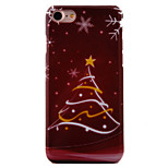 Per Fantasia/disegno Custodia Custodia posteriore Custodia Natale Resistente PC AppleiPhone 7 Plus / iPhone 7 / iPhone 6s Plus/6 Plus /