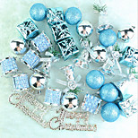 Christmas Tree Ornaments 32 Lake Blue Christmas Package To Hang A Lot Christmas Pendant