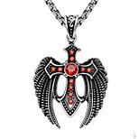 Муж. Ожерелья с подвесками Цепочка Бижутерия Титановая сталь Животный дизайн По заказу покупателя Бижутерия Назначение Повседневные