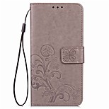 For elePhone M2 P8000  Card Holder / Wallet / with Stand / Auto Sleep/Clover Pattern Case Full Body Case Mandala Hard PU Leather