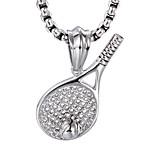Муж. Ожерелья с подвесками Бижутерия Нержавеющая сталь По заказу покупателя Бижутерия Назначение Для вечеринок Повседневные