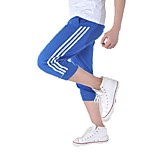 Men's Running Pants/Trousers/Overtrousers 3/4 Tights Bottoms Comfortable Spring Summer Fall/Autumn Golf Leisure Sports Running Cotton Slim