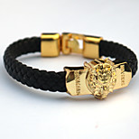 Inspired by Final Fantasy Cosplay Anime Accessories Bracelet Golden Alloy / PU Leather