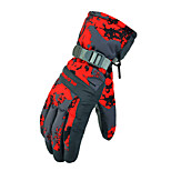 Ski Gloves Full-finger Gloves Women's / Men's Activity/ Sports Gloves Snowproof Gloves Ski & Snowboard Polyester WinterGreen / Red / Gray