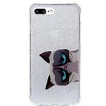 Voor IMD / Patroon hoesje Achterkantje hoesje Kat Zacht TPU AppleiPhone 7 Plus / iPhone 7 / iPhone 6s Plus/6 Plus / iPhone 6s/6 / iPhone