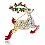 May Polly  Christmas deer Brooch