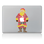 Letters of Santa Claus Decorative Skin Sticker for MacBook Air/Pro/Pro with Retina