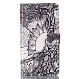 Full Body Card Holder/ Flip Tree Of Life PU Leather Soft Case Cover For Sony Sony Xperia X Performance / Sony Xperia M4 Aqua