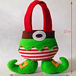 décorations de Noël, le sac des elfes