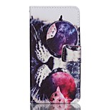 Full Body Card Holder / Wallet / Flip / Pattern Owl PU Leather Hard Case Cover For Lenovo A6000