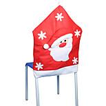 metade estéreo cadeira velho natal não-tecidos define 50 * 65 centímetros
