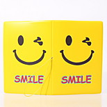 Travel Passport Holder & ID Holder Waterproof / Dust Proof / Portable Travel Storage PVC  Smile