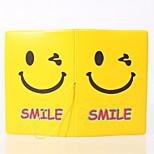 Travel Passport Holder & ID Holder Waterproof / Dust Proof / Portable Travel Storage PVC  Smile