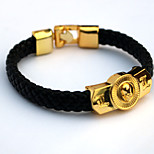 Inspired by Death Note Cosplay Anime Accessories Bracelet Golden Alloy / PU Leather