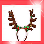 1PC Children'S Christmas New Brown Bell Hoop Hoop Christmas Gift