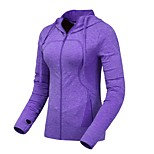 Running Jacket / Sweatshirt Women's Long Sleeve Breathable / Thermal / Warm / Comfortable Leisure Sports / Running Sports Wear Slim