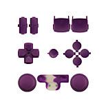 vervangende controller geval bouwpakket instellen voor ps3 controller oranje / paars / roze