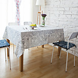 Rectangular Patterned / Striped Table Cloth Material Hotel Dining Table / Table Decoration 1