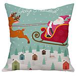 1PC Household Articles Back Cushion Novelty Originality Christmas Fashionable Single Pillow Case
