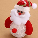 Acrylic Snowman 7Colorful Decoration Atmosphere Lamp Novelty Lighting Christmas Light