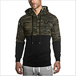 Men Outdoor Sports Gym Shirt Leisure Coat Running Hoodie Cardigan Casual Hoody Fashion Street Sweater Top Hip Hop Outwear Clothing